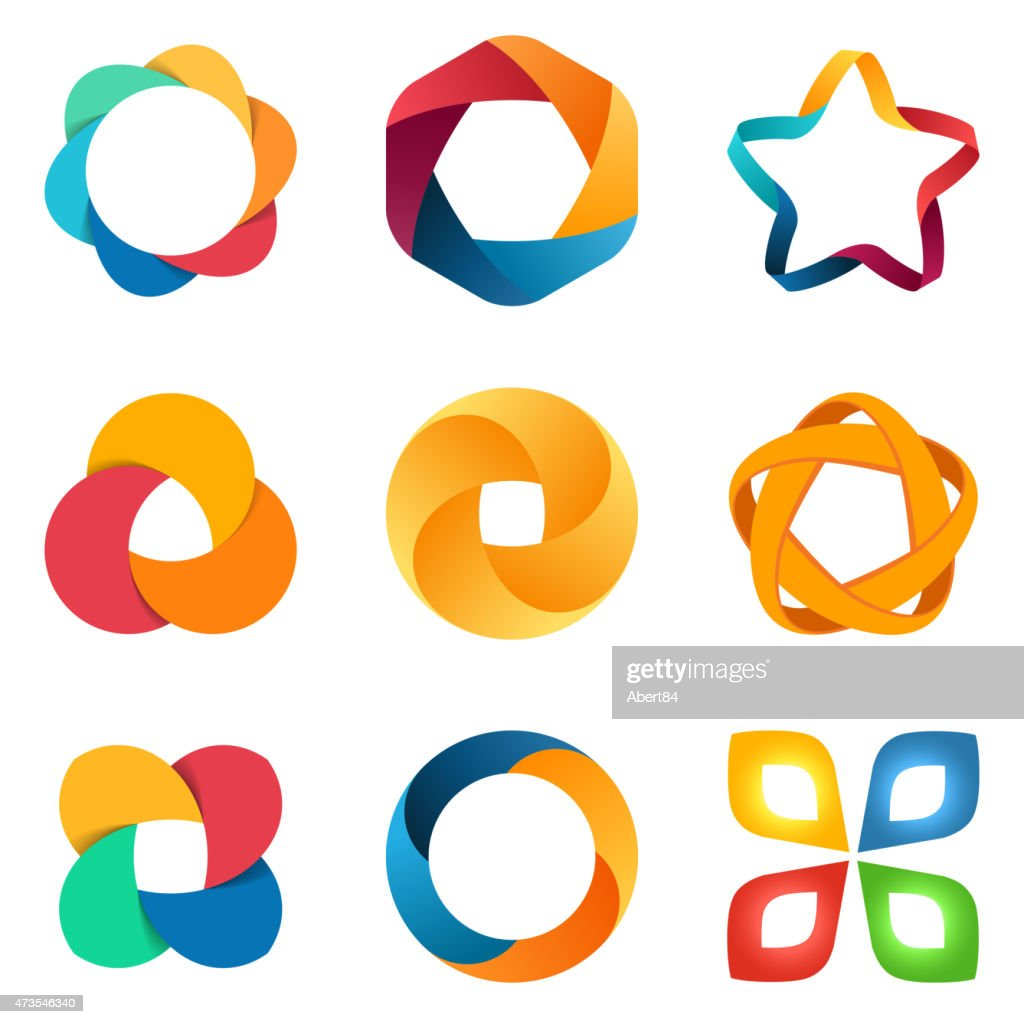 Logo templates set.