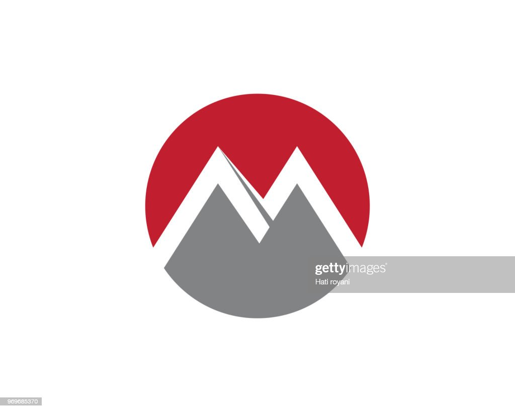 M logo vector icons template