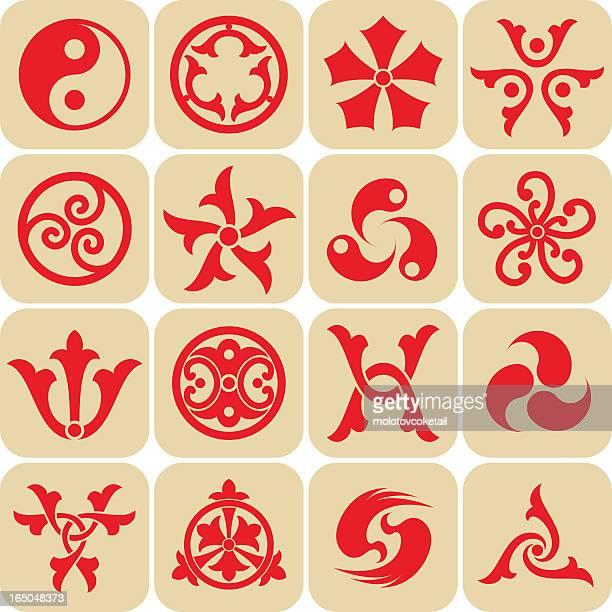 logos von Osten (Vektor