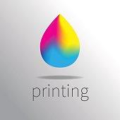 Logotype printing