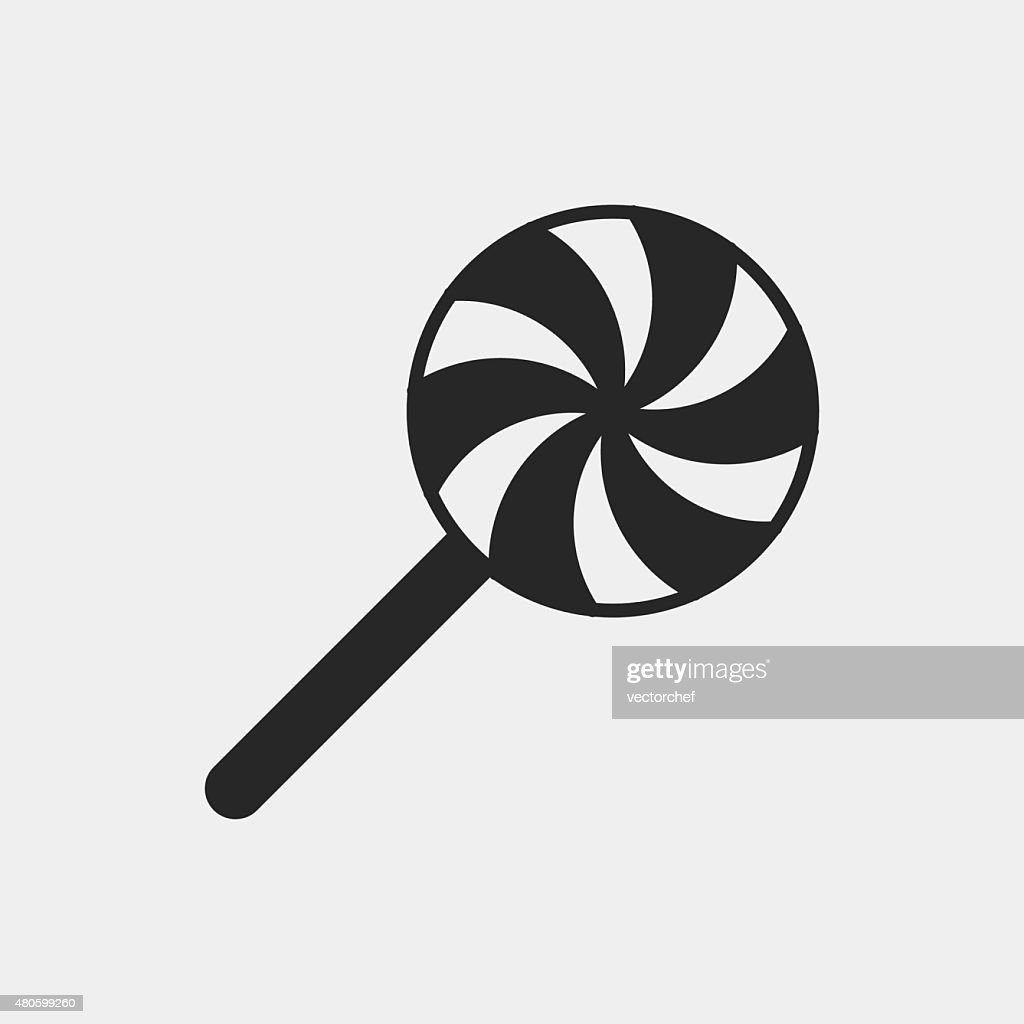 lollipop icon : Vector Art