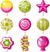 Lollipops set