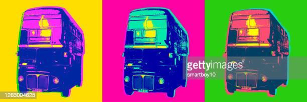 ロンドンバス - セントラル・ロンドン点のイラスト素材/クリップアート素材/マンガ素材/アイコン素材