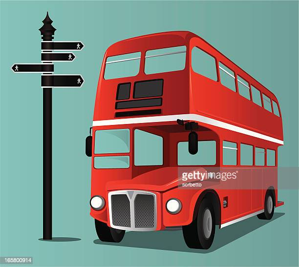 Worlds Best Double Decker Bus Stock Illustrations Getty