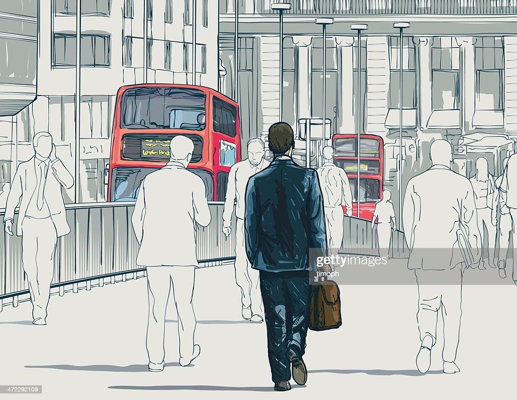 ロンドンバス : ストックイラストレーション