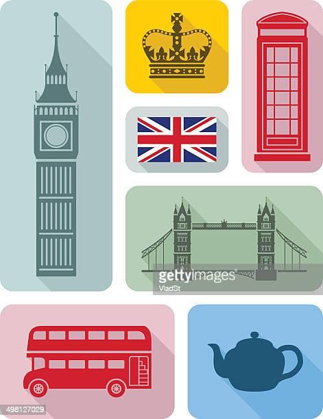 London city icons