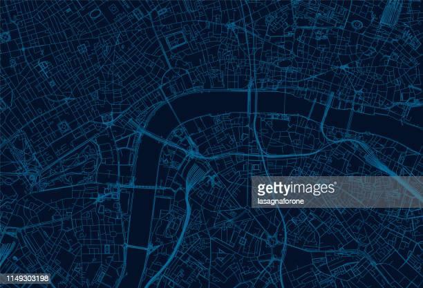 ilustrações de stock, clip art, desenhos animados e ícones de london city map - londrina
