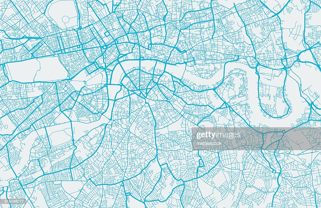 World cities map vector london city map vector art getty images gumiabroncs Gallery