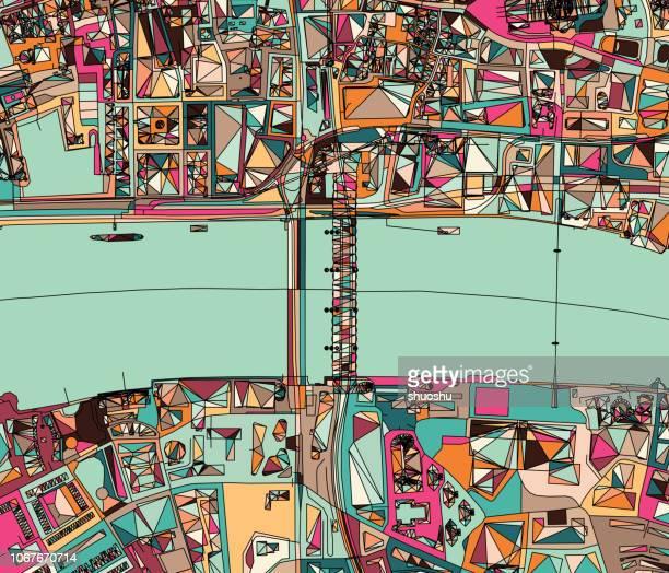 ilustraciones, imágenes clip art, dibujos animados e iconos de stock de ilustración de estructura de la ciudad de londres - greater london