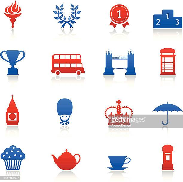 London Games Icons