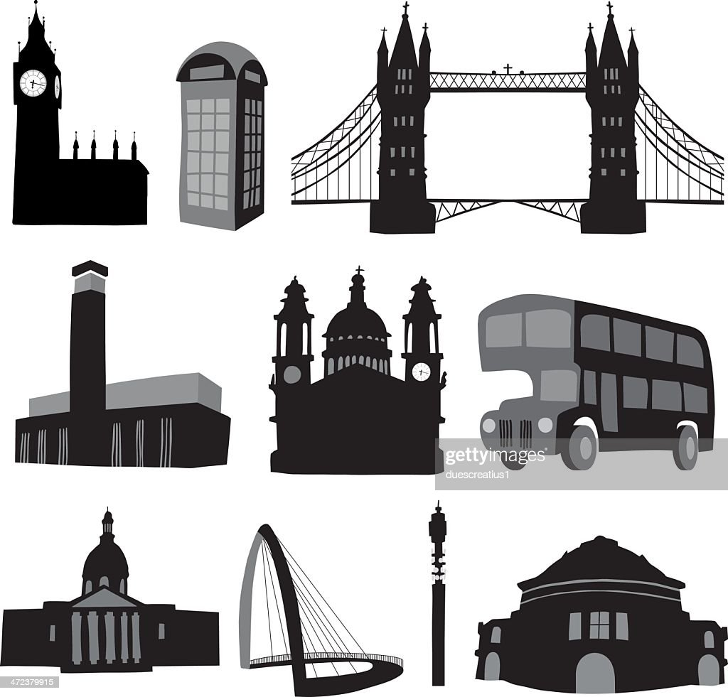 London Icons - significant buildings
