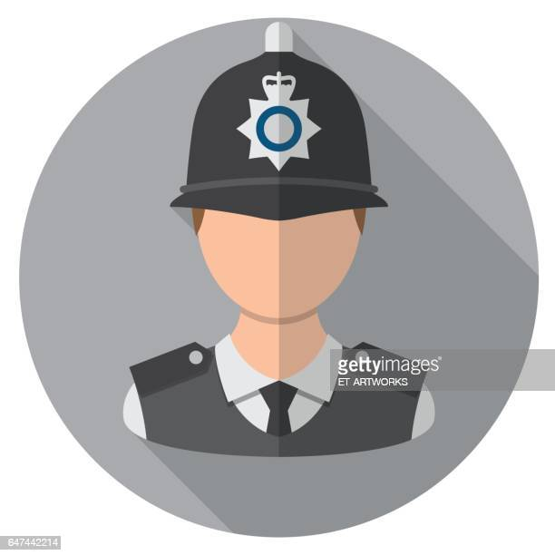 london police officer - avatar stock illustrations
