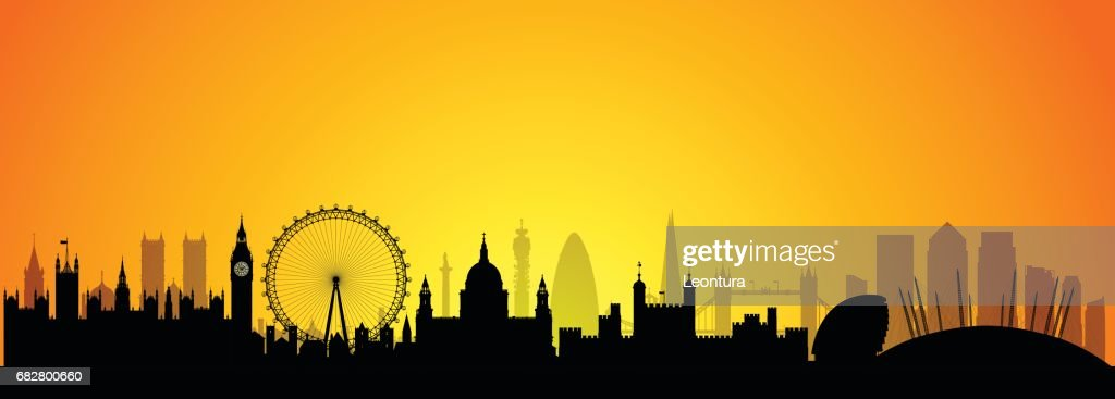 London Skyline Skyline (All Buildings are Complete and Moveable)