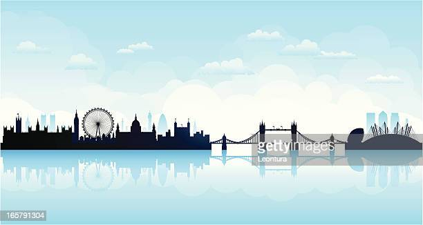 London Skyline (Complete, Moveable, Detailed Buildings)