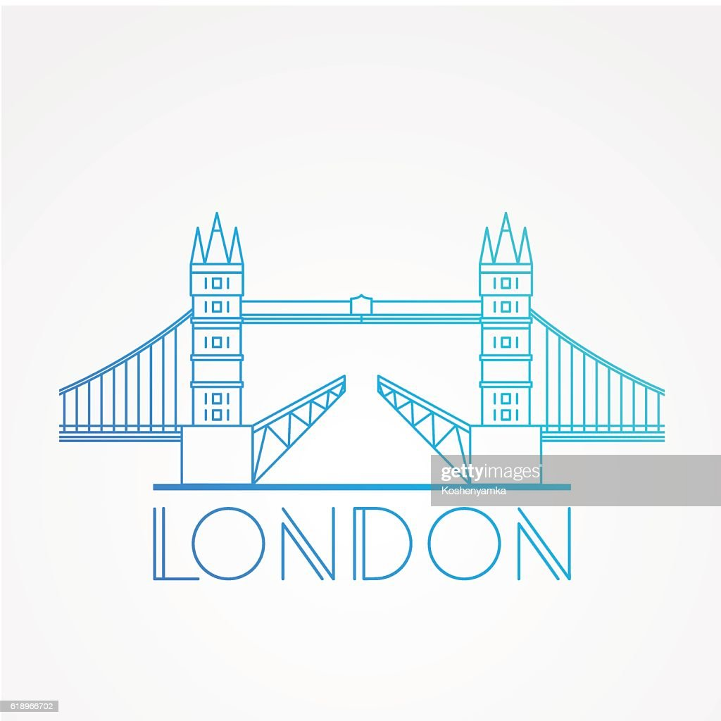 London Skyline. Vector illustration