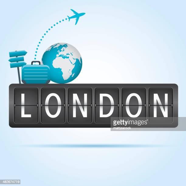 ロンドン旅行コンセプト
