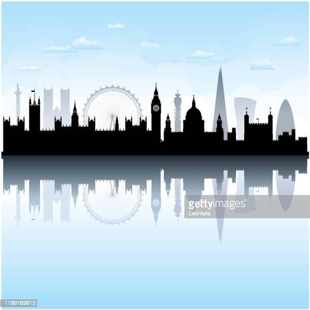 ロンドン(すべての建物が完成し、移動可能) - セントラル・ロンドン点のイラスト素材/クリップアート素材/マンガ素材/アイコン素材