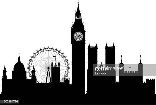 ロンドン(全ての建物は完全で移動可能) - セントラル・ロンドン点のイラスト素材/クリップアート素材/マンガ素材/アイコン素材