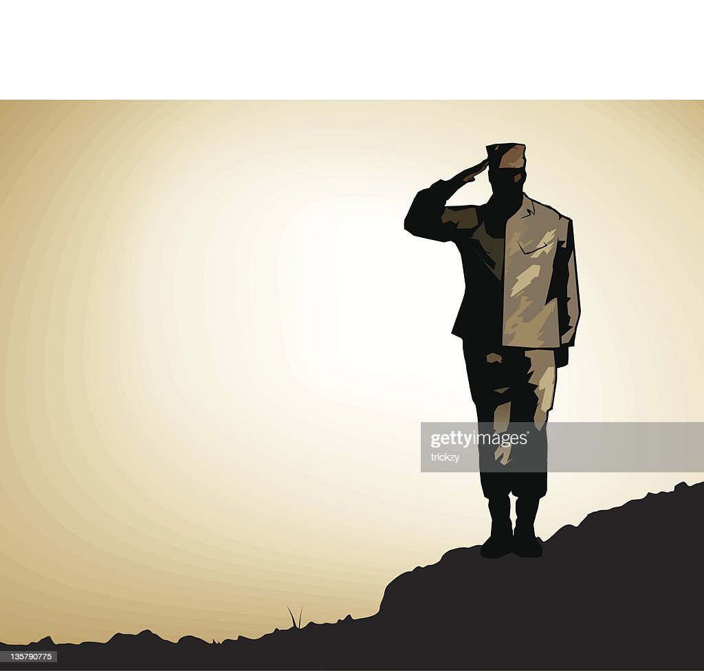 Lone Soldier Salute