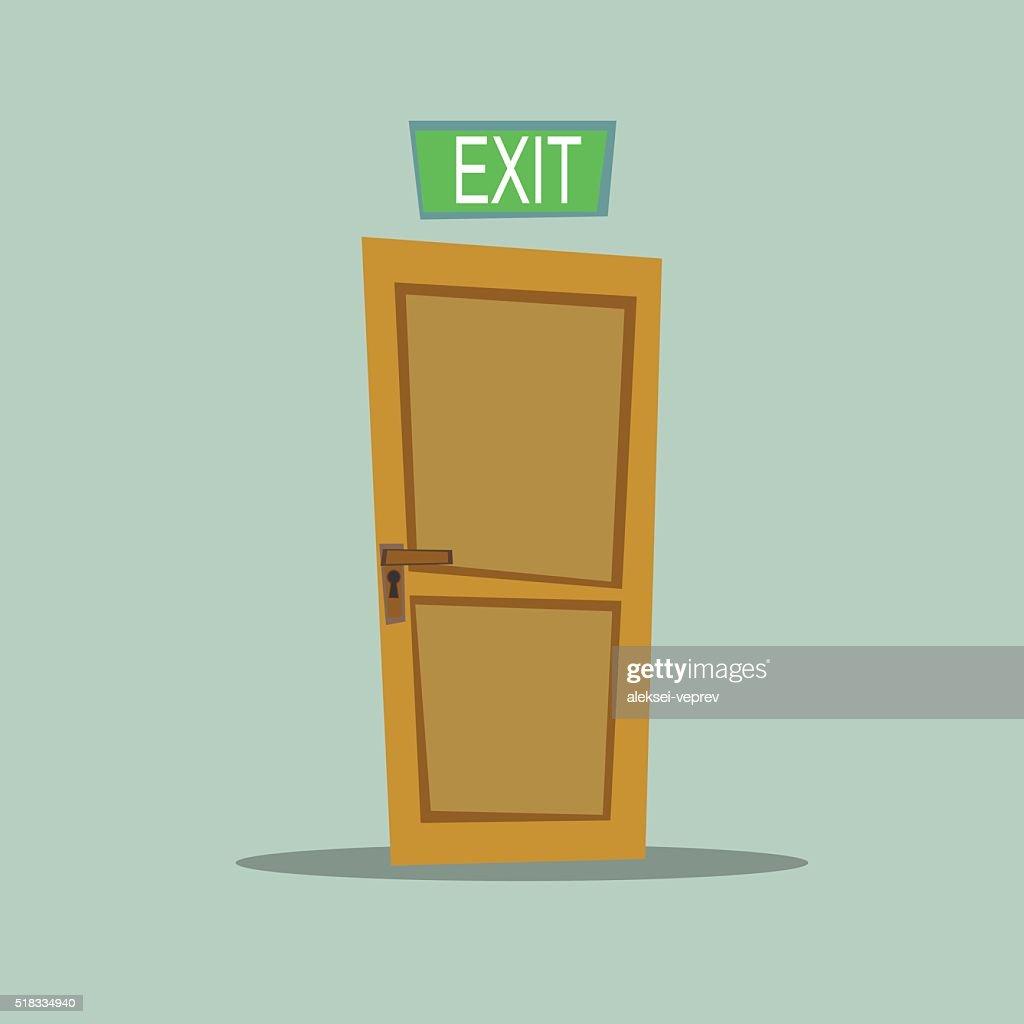 Lonely door exit