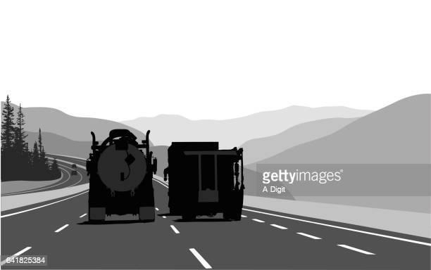 Long Distance Driving Trucks