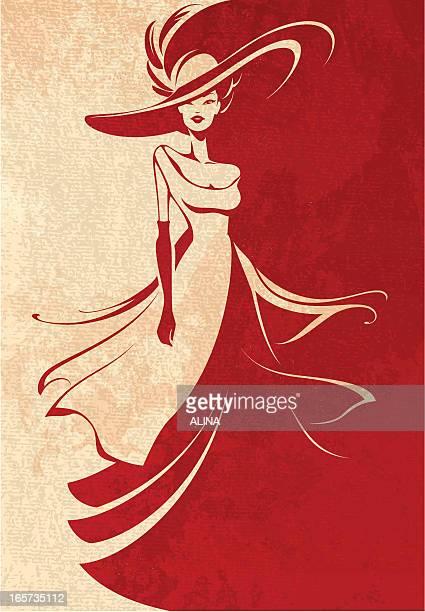 Long Kleid