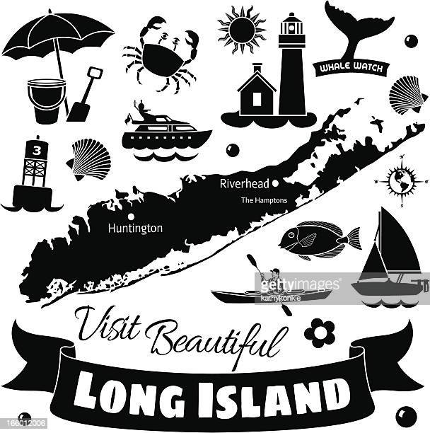 long island - motorboating stock illustrations, clip art, cartoons, & icons