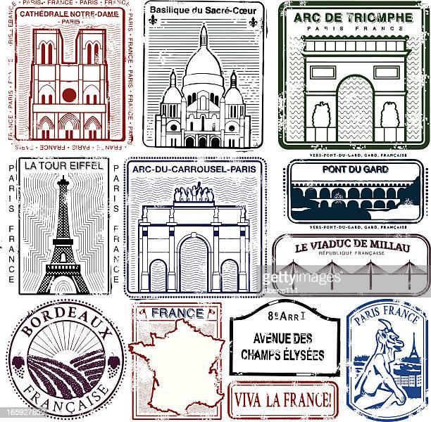 ロングライブ viva la フランス - ガール県点のイラスト素材/クリップアート素材/マンガ素材/アイコン素材