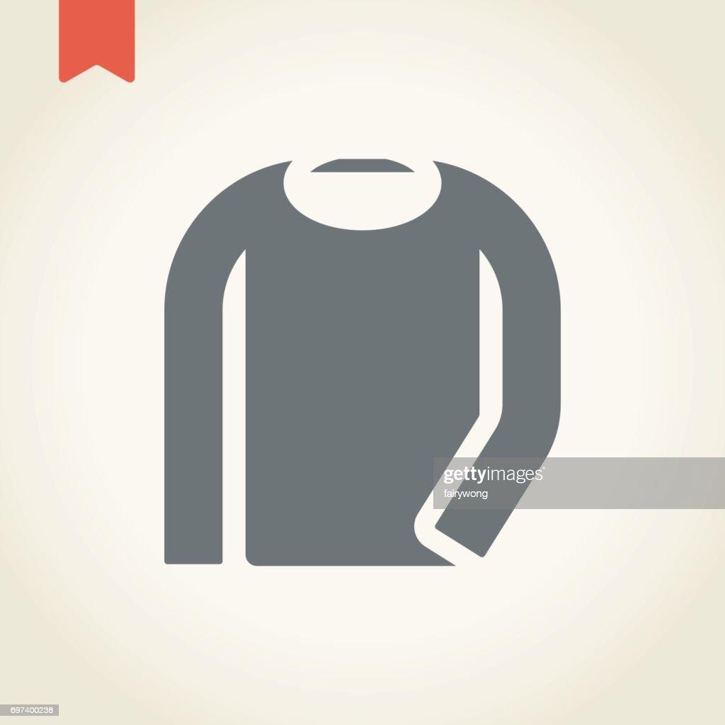 Long Sleeve T-shirt Icon
