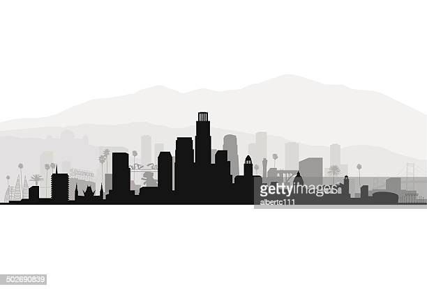Los Angeles Detailed Cityscape