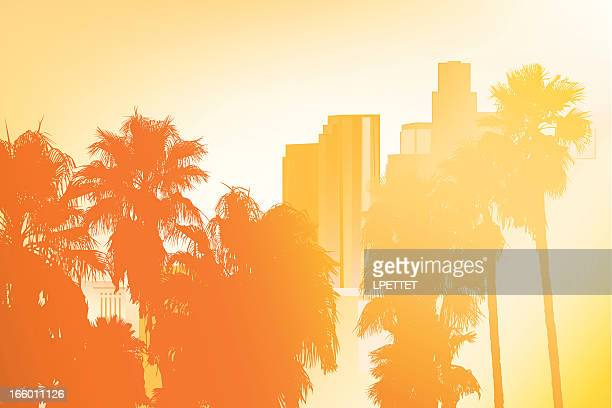Los Angeles - Vector Illustration