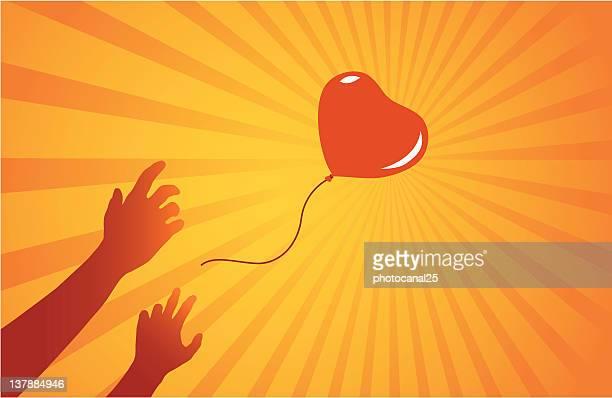 lost balloon - lost stock illustrations, clip art, cartoons, & icons