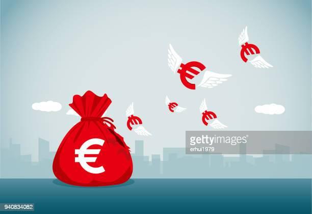 lost - euro stock-grafiken, -clipart, -cartoons und -symbole