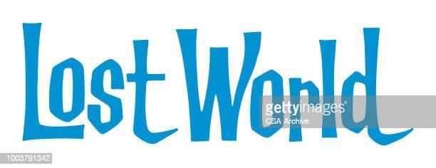 lost world - lost stock illustrations, clip art, cartoons, & icons