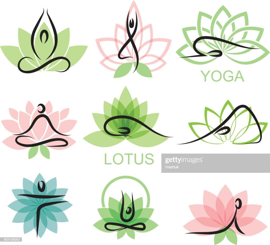 Lotus and yoga