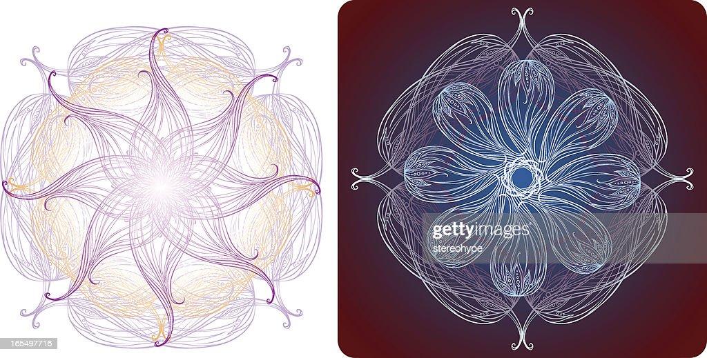 lotus blossom mandalas