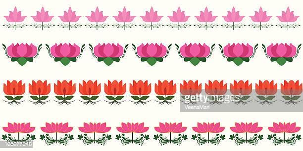 Lotus Border..