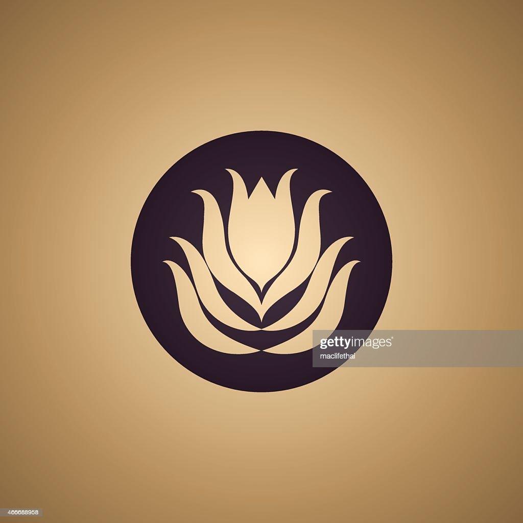 Lotus flower logo vector vector art getty images lotus flower logo vector vector art izmirmasajfo