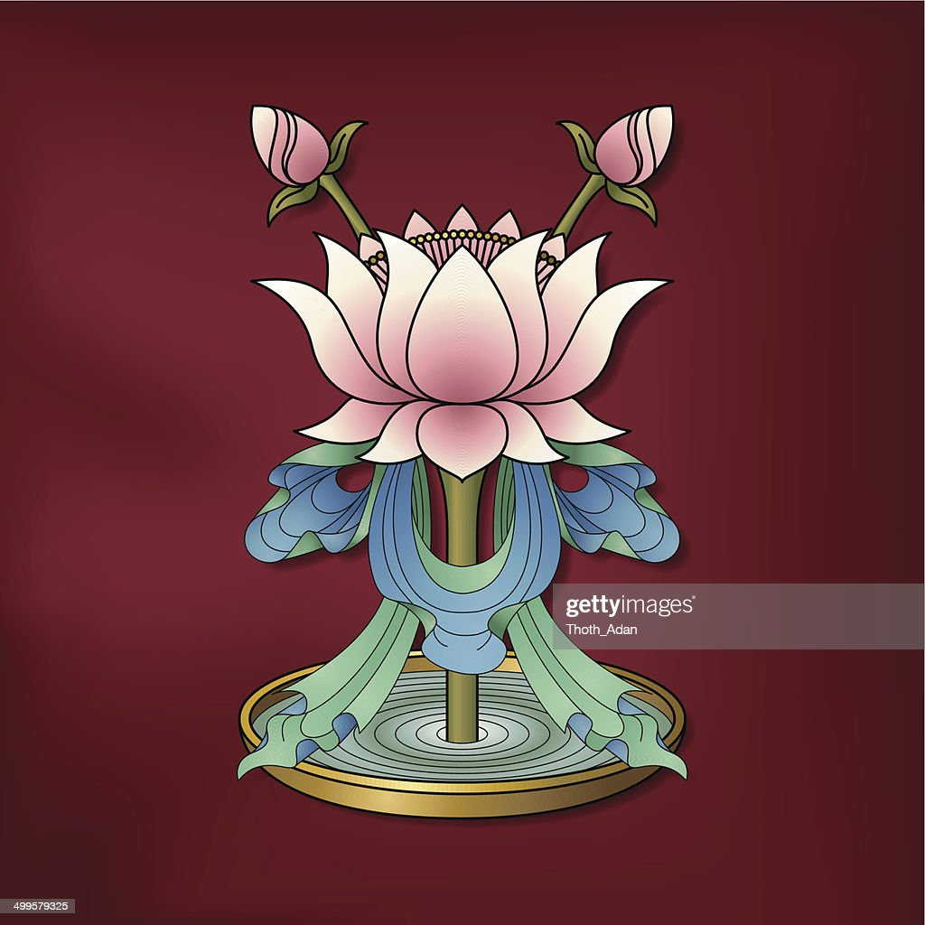 Lotus Flower Padma Vector Art Getty Images