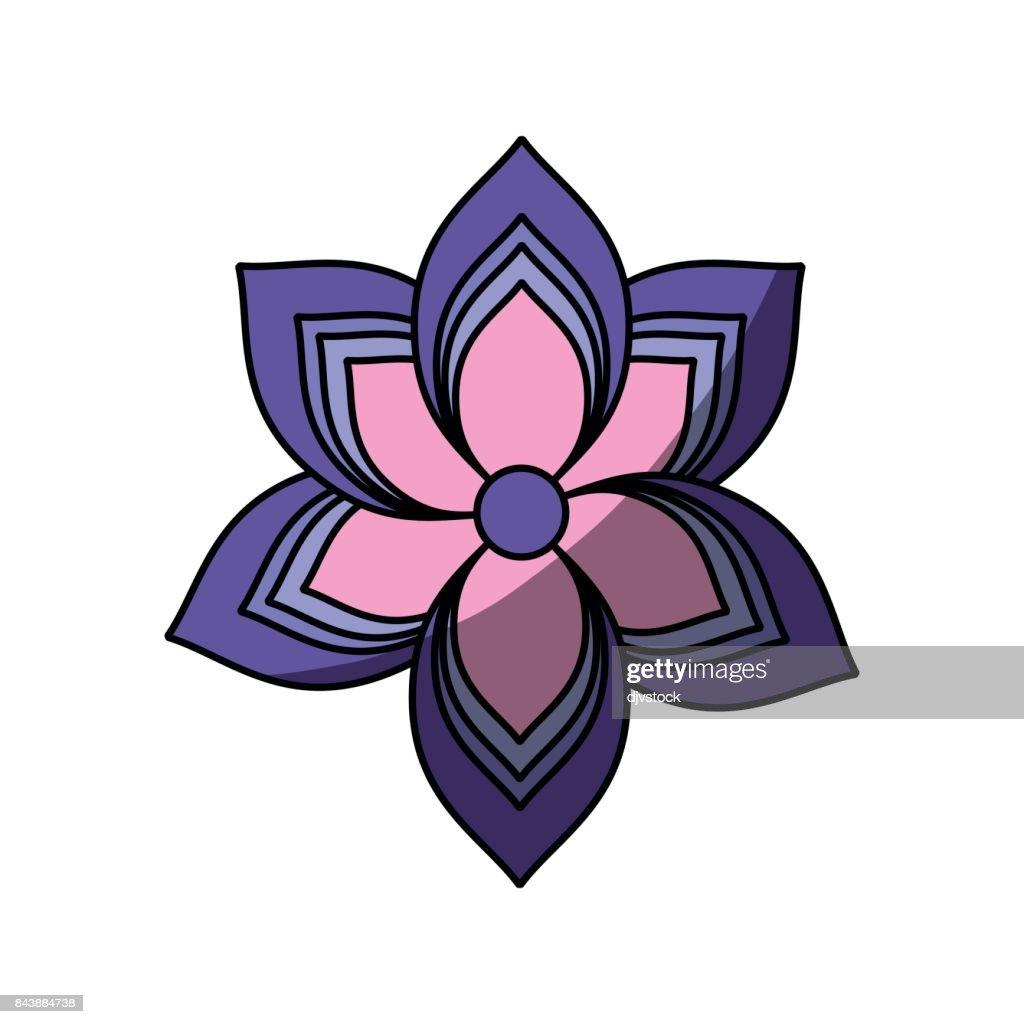 Lotus flower symbol vector art getty images lotus flower symbol vector art izmirmasajfo