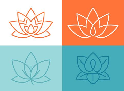 Lotus Flower Symbols - gettyimageskorea