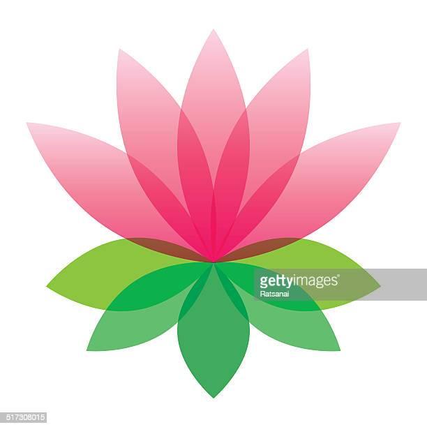 illustrations, cliparts, dessins animés et icônes de fleur de lotus - lotus