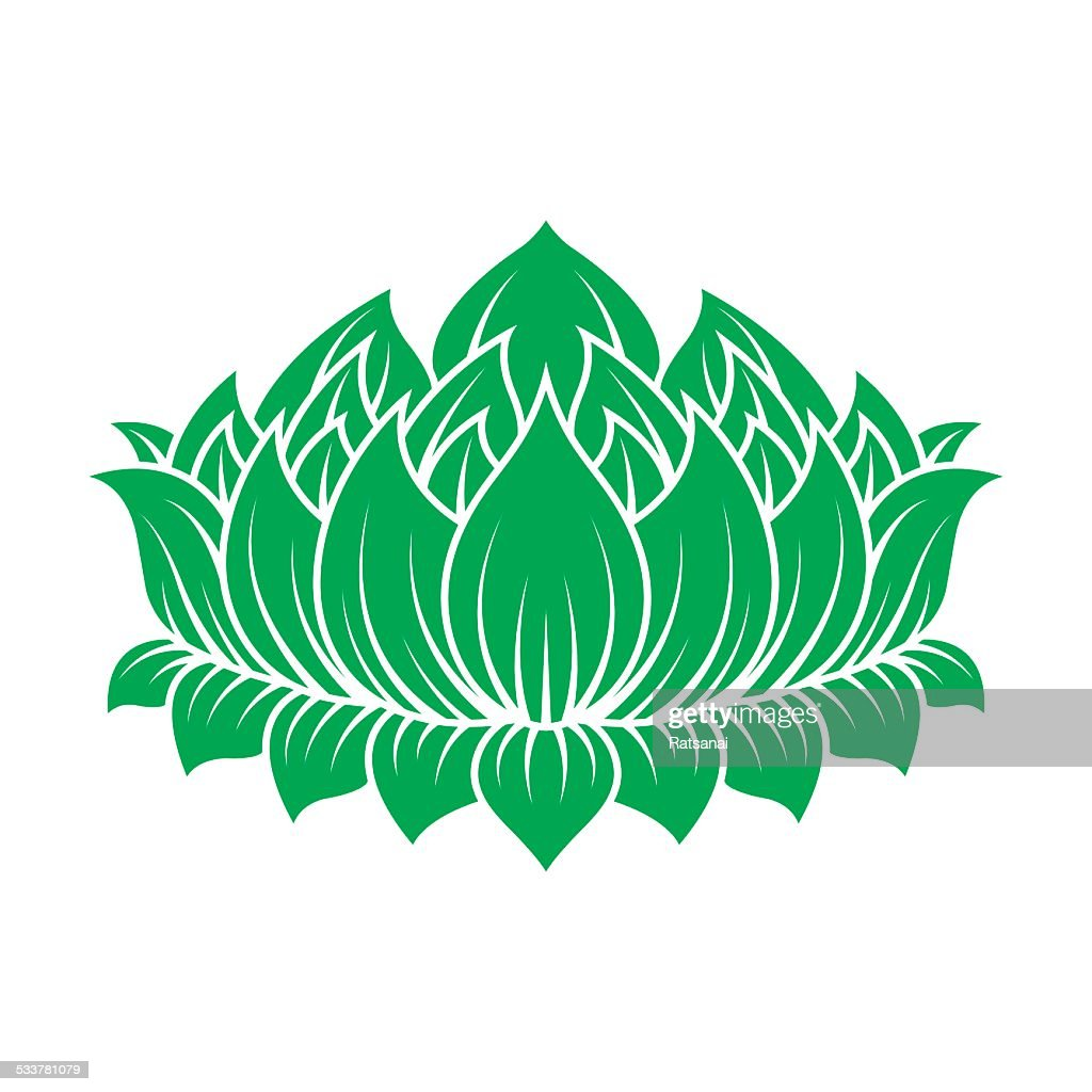 Lotus Flower Vector Art Getty Images