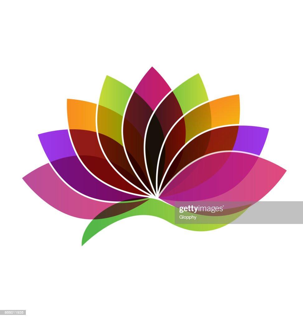 Lotus Flower Yoga Massage Icon Vector Art Getty Images