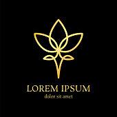 lotus line design template
