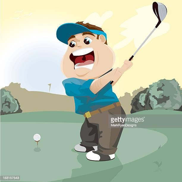 013d46496d68e 60 Top Driver Golf Club Stock Illustrations