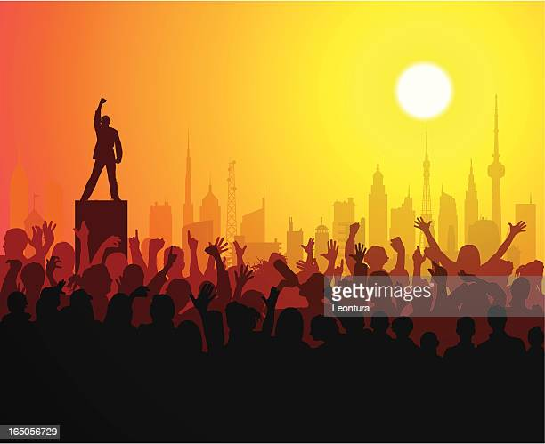 loud people - protestor stock illustrations, clip art, cartoons, & icons