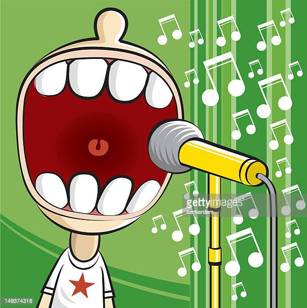 loudness music at the stage - bass instrument stock illustrations, clip art, cartoons, & icons