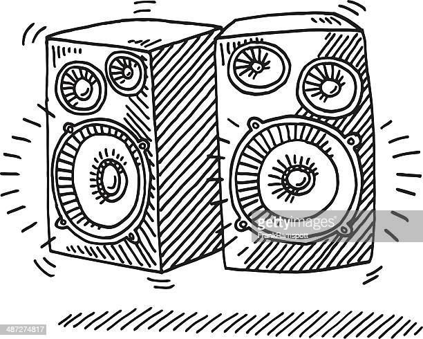 Drawing Lines Sound Effect : Noise pollution drawing stock illustrations and cartoons