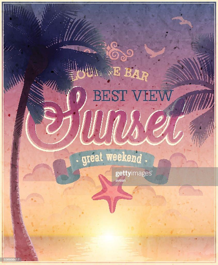 Lounge Bar poster.
